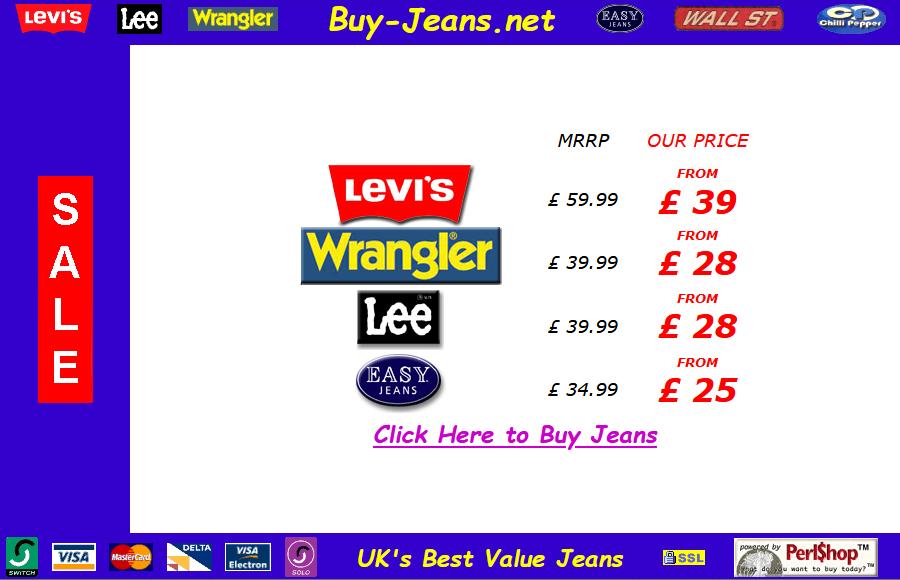 Buy Jeans 2001
