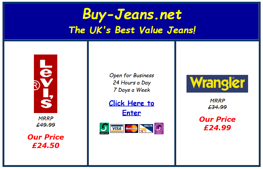 Buy Jeans 2003