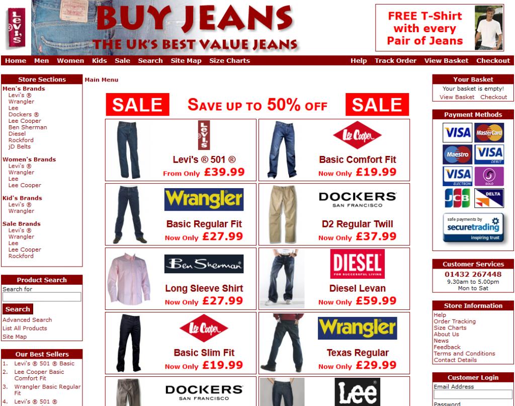 Buy Jeans 2008