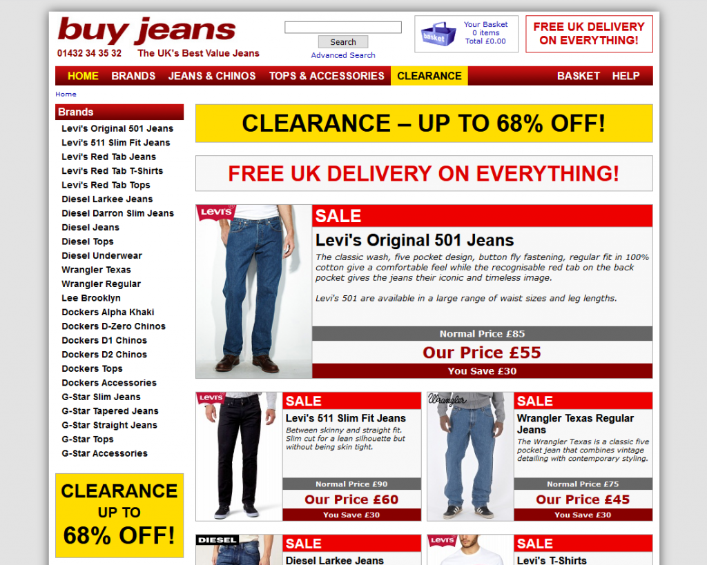 Buy Jeans 2014