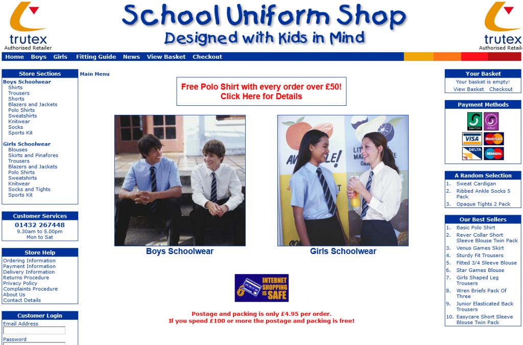 School Uniform Shop 2006