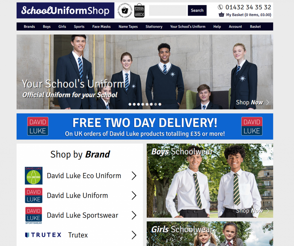 School Uniform Shop 2020